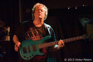 Stuart 'Stu' Hamm, playing in the Carl Verheyen Band during the Mustang Run Tour